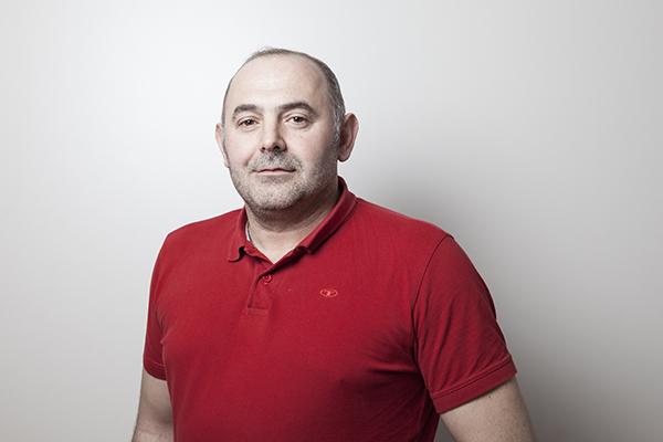 Portrait Goran Stojkovic - Warenannahme, Arbeitsvorbereitung